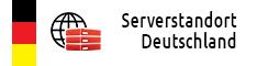 Webhosting Serverstandort Deutschland